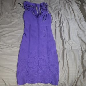 bebe Dresses - Purple bebe dress